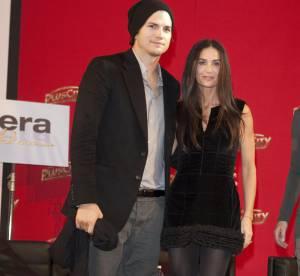 Demi Moore et Ashton Kutcher, un week-end paillettes
