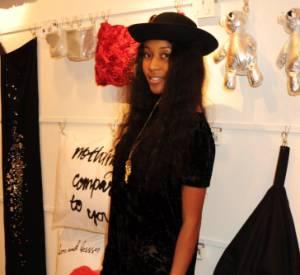 VV Brown lors de l'ouverture de la boutique H&M Home à Londres.