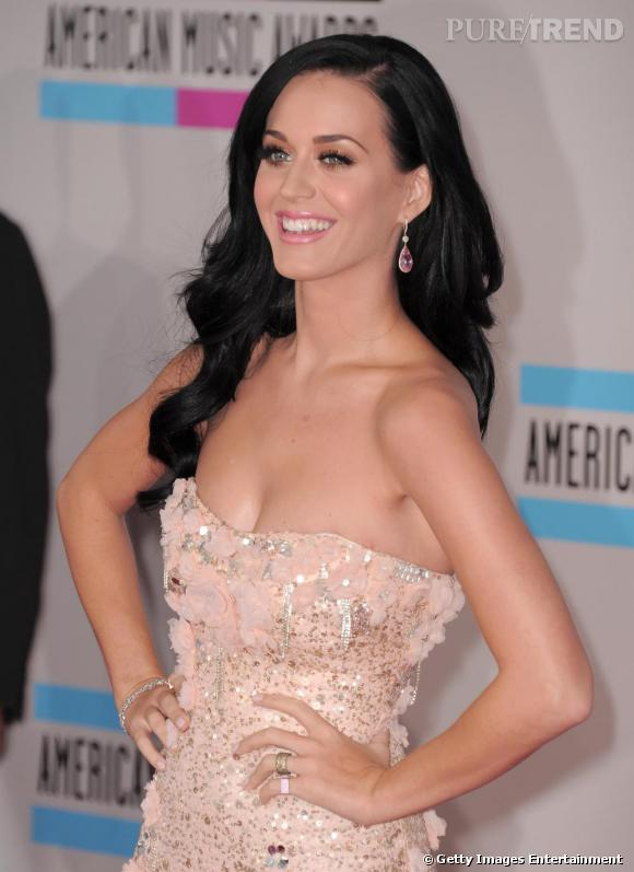 Katy Perry lors des American Awards 2010 à Los Angeles.