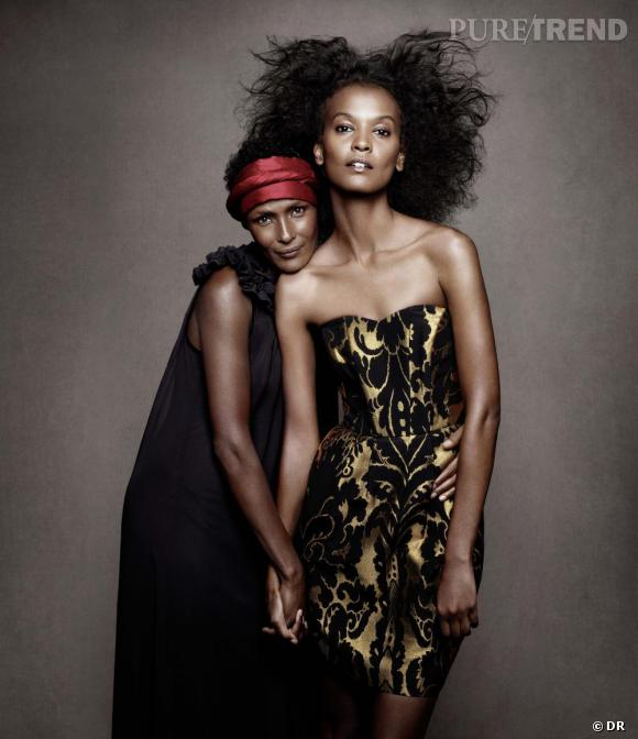 waris dirie et liya kebede pour h m puretrend. Black Bedroom Furniture Sets. Home Design Ideas