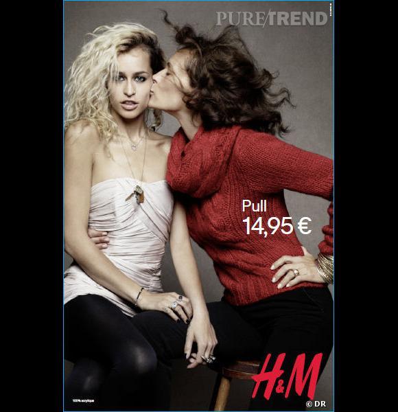 Alice et Andréa Dellal pour H&M.