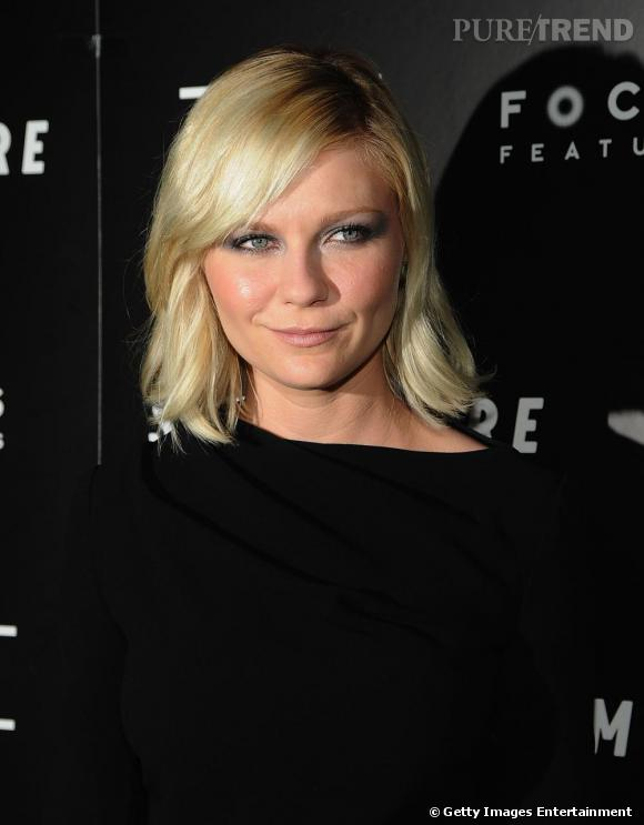 "Kirsten Dunst à la projection de ""Somewhere"", samedi à New York."