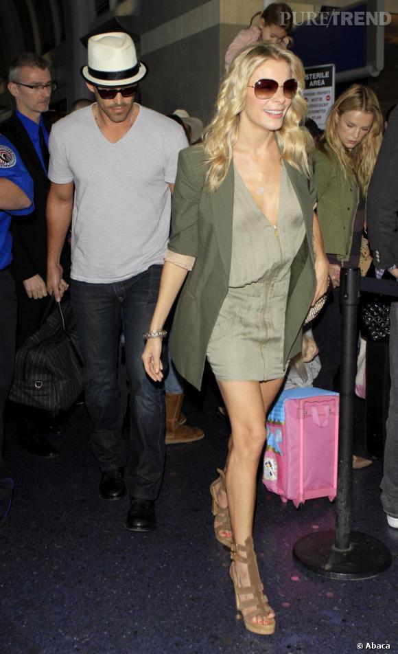 LeAnn Rimes à l'aéroport de Los Angeles mardi.