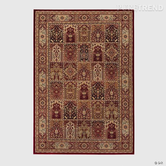 Tapis La Redoute       Un tapis Persan, indémodable, irremplaçable et  indétrônable dans son salon.    Prix : 79€