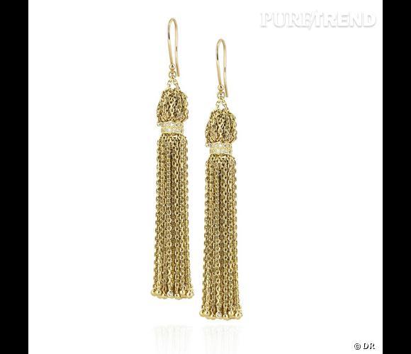 Boucles d'oreilles Solange Azagury Partridge       Des boucles d'oreilles en or et diamants, les mêmes que celles d'une Princesse indienne.    Prix : 17229.62€     En vente sur  www.net-a-porter.com
