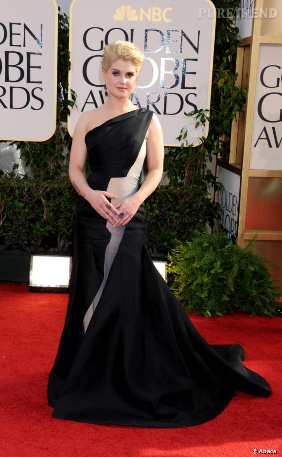 Kelly Osbourne en robe Zac Posen.