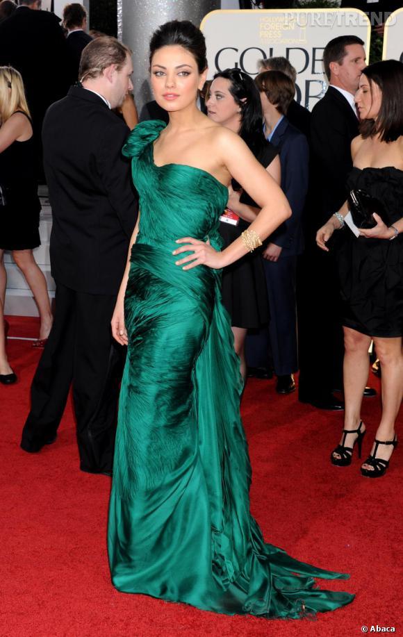 Mila Kunis, gracieuse.