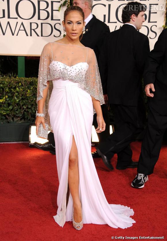 Jennifer Lopez porte une robe Zuhair Murad printemps,été 2011.
