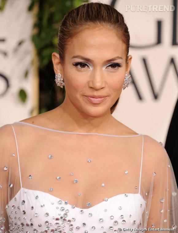 Jennifer Lopez aux Golden Globes 2011 à Los Angeles.