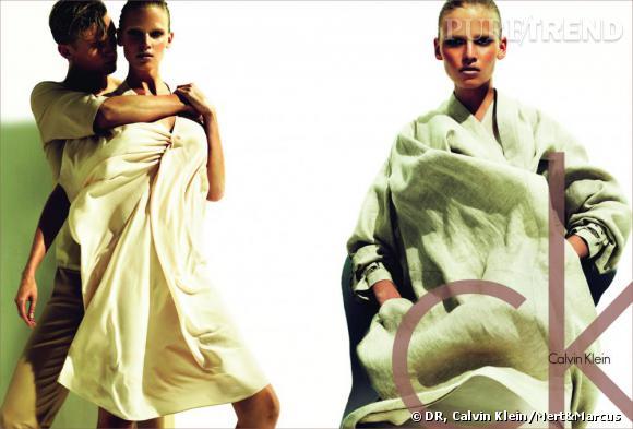 Calvin Klein, campagne printemps-été 2011.