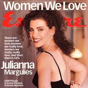 Julianna Margulies accède au succès, avec la série Urgences, qui fait un véritable carton au milieu des années 90.