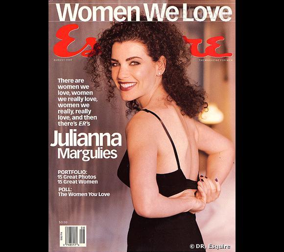 Julianna Margulies accède au succès, avec la série  Urgences , qui fait un véritable carton au milieu des années 90.