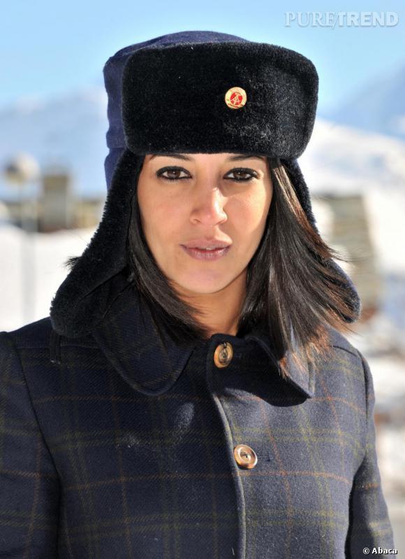 Leila Bekhti au Festival du Film de l'Alpe d'Huez.