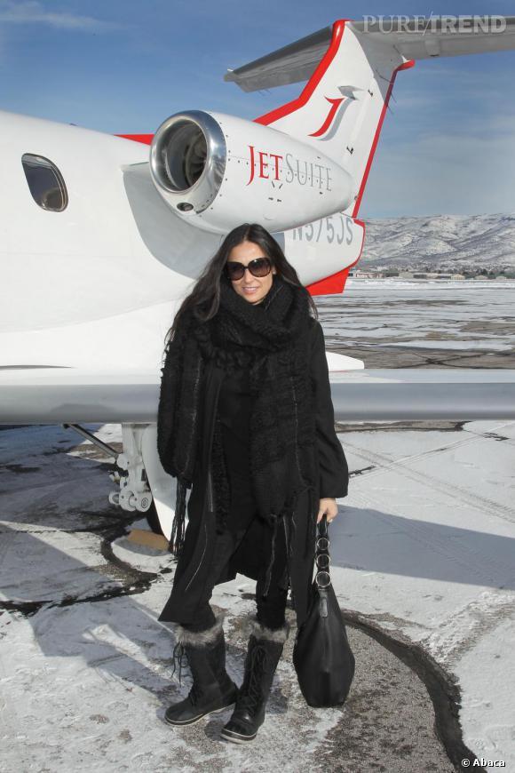 Demi Moore au Festival du Film de Sundance.