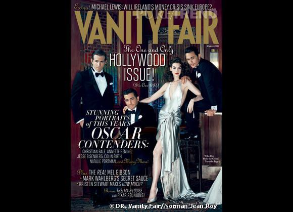 La couverture du Vanity Fair, mars 2011.