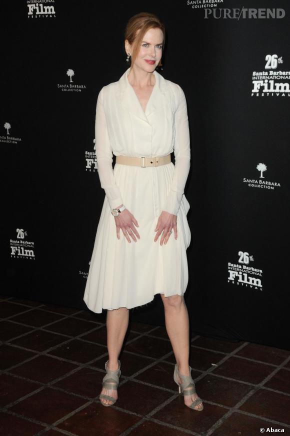 "Nicole Kidman honorée du prix ""Cinema Vanguard"" lors du Festival International du Film de Santa Barbara à Los Angeles."