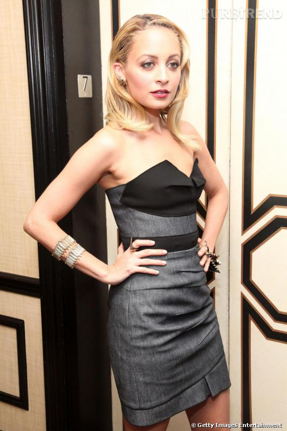 Nicole Richie à la soirée organisée par Bergdorf Goodman, pour la Fashion Week new-yorkaise.