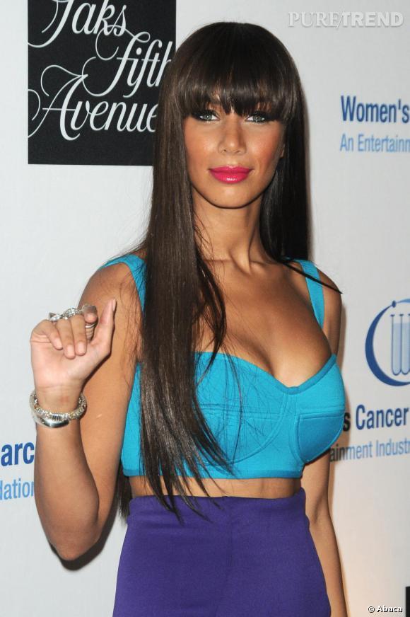 Leona Lewis lors d'une soirée de charité pour la recherche contre le cancer.