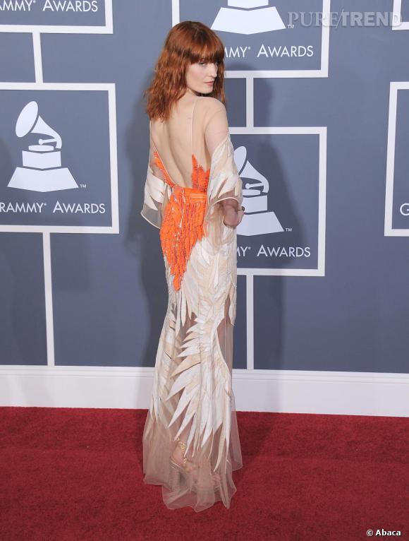 Florence Welch en Givenchy printemps-été 2011 Haute Couture.