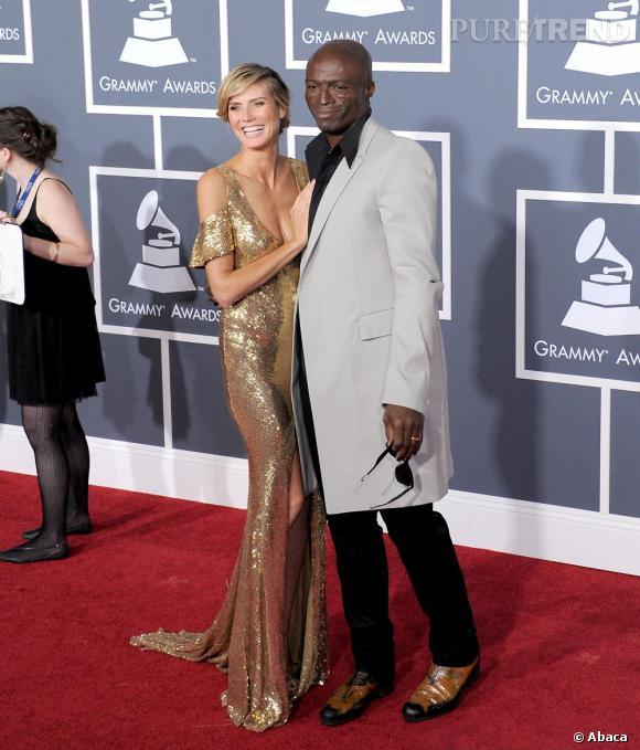 Le couple glamour Seal et Heidi Klum en Julien Macdonald.