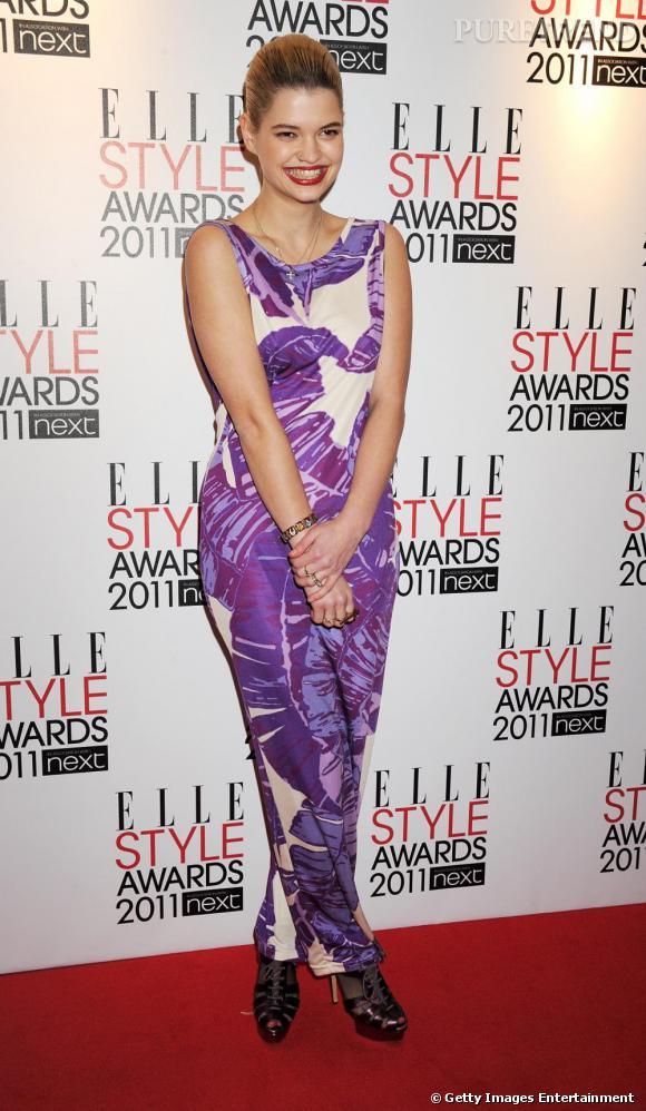 Pixie Geldof lors des ELLE Style Awards, à Londres.