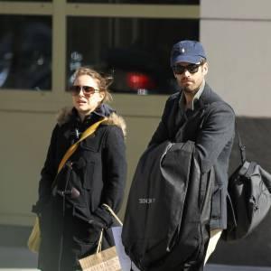 Natalie Portman au côté de Benjamin Millepied.