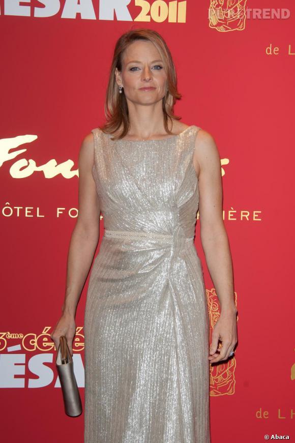 Jodie Foster, une présidente scintillante.