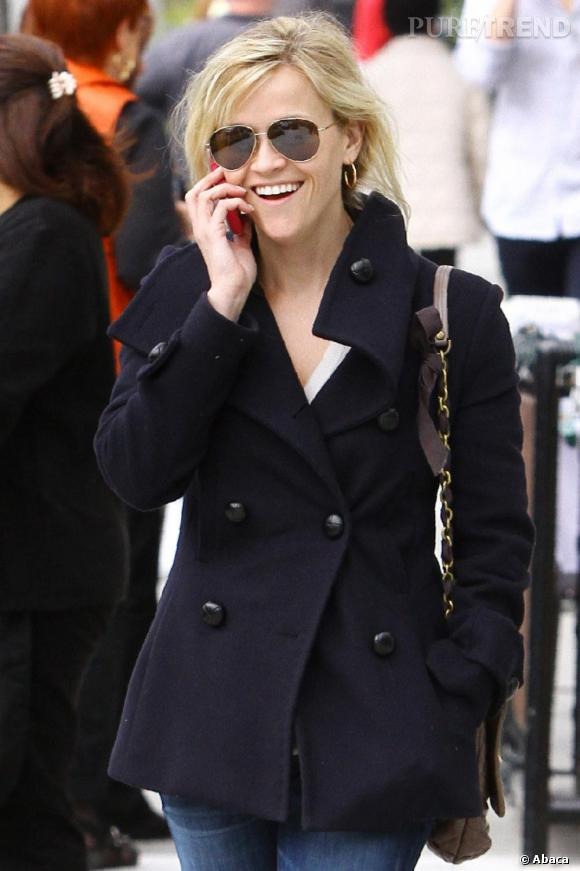 Reese Witherspoon en balade à Los Angeles.
