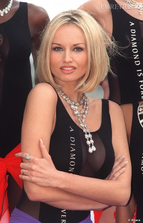 La belle slovaque n'a pas longtemps cherché son style, elle mise sur sa sensualité.