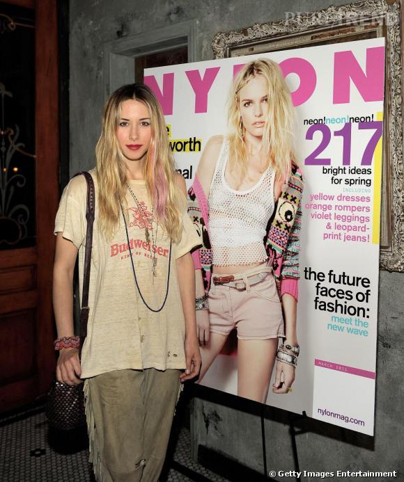 Gillian Zinser à la soirée organisée par Nylon en l'honneur de la cover girl du mois de mars, Kate Bosworth, à Los Angeles.