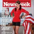 Version politique :  exit le glamour, Sarah dégaine son short de course prête à mettre une raclée à ses adversaires.