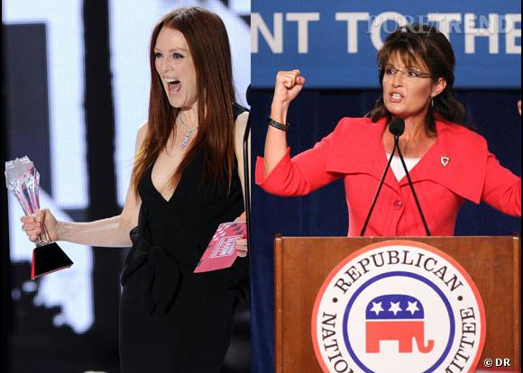 Julianne Moore dans la peau de Sarah Palin...