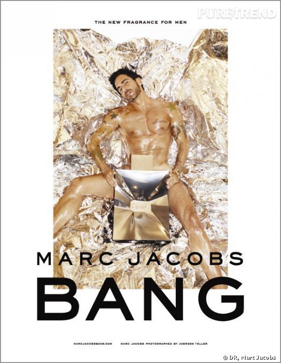 Marc Jacobs nu pour son parfum Bang