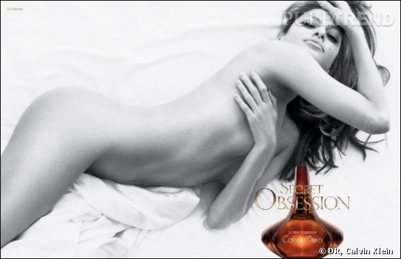 Eva Mendes nue pour Secret d'Obsession de Calvin Klein