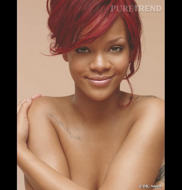Rihanna nue pour les 100 ans de Nivea