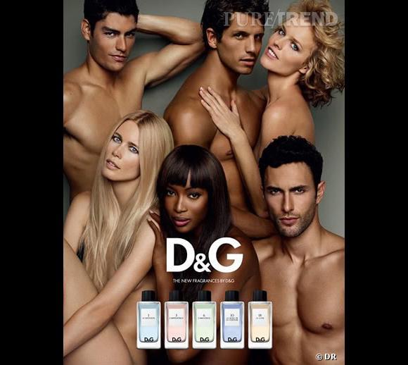 """Campagne de pub """"Anthology"""" de D&G"""