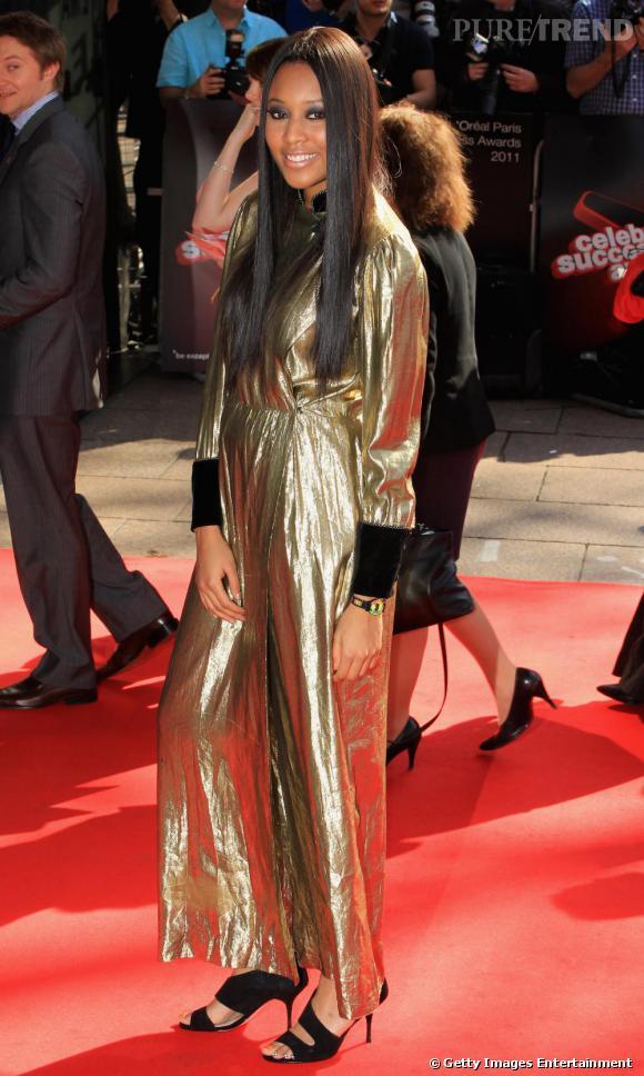VV Brown lors du gala Celebrate Success, à Londres.