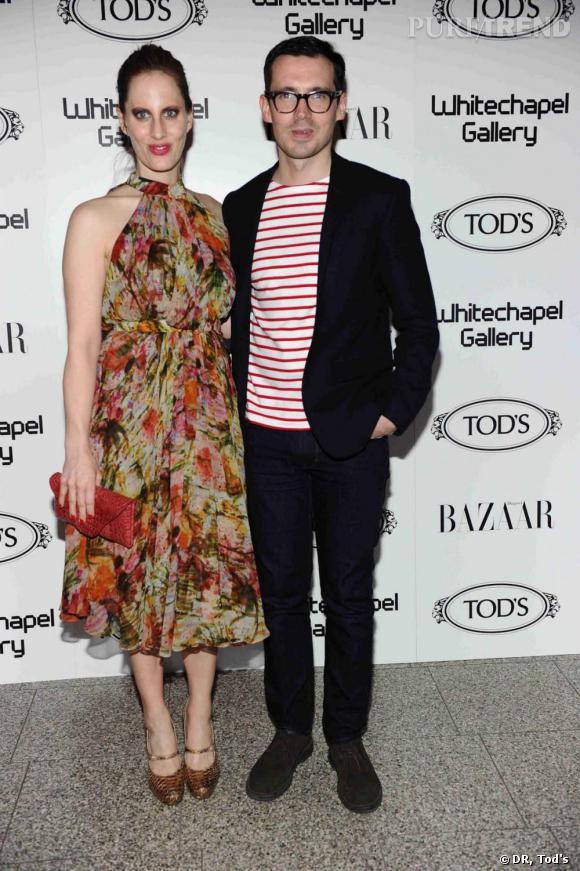 Erdem à la soirée Tod's Art Plus Drama à Londres.