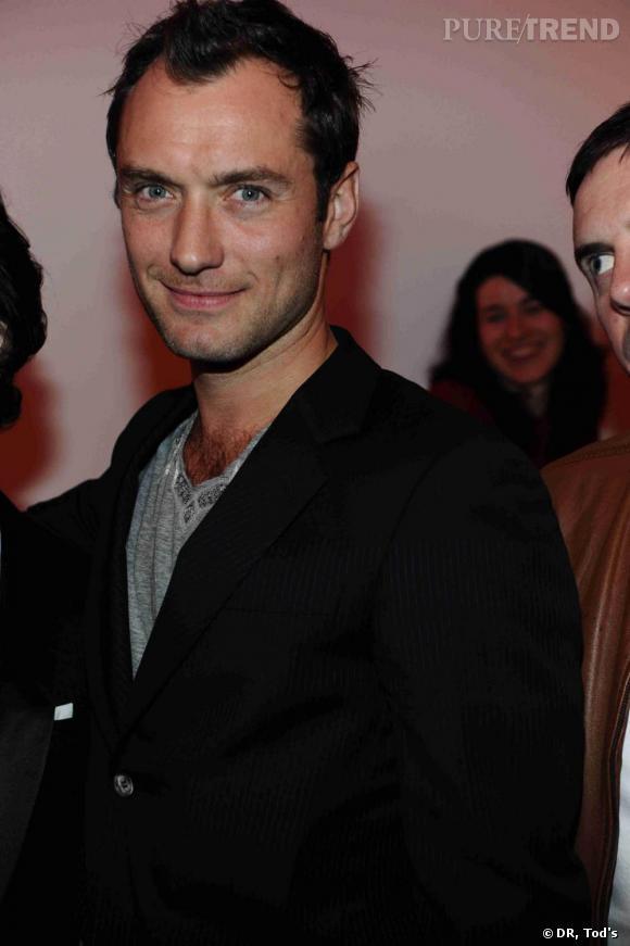 Judd Law à la soirée Tod's Art Plus Drama à Londres.