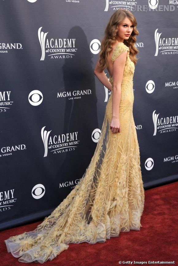 Taylor Swift aux American Country Music Awards, à Las Vegas.