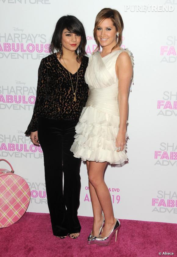 Vanessa Hudgens aux côtés d'Ashley Tisdale.