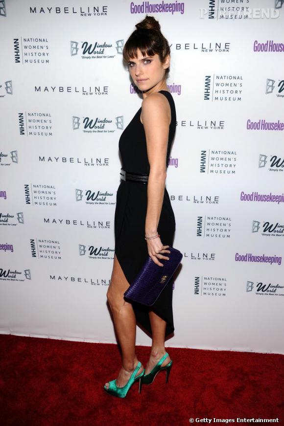 Lake Bell lors de la soirée des Shine On Awards organisée à New York.