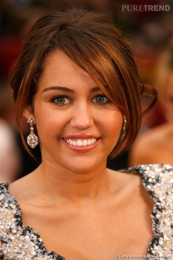 """Le sourire """"Clowny"""" :  Miley Cyrus est un brin effrayante lorsqu'elle sourit."""