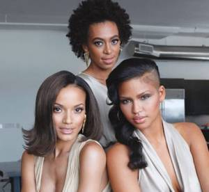 Cassie, Solange Knowles, Selita Ebanks égéries carols' Daughter