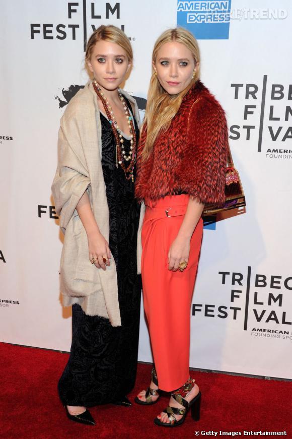 Les soeurs Olsen au festival du film de TriBeCa.