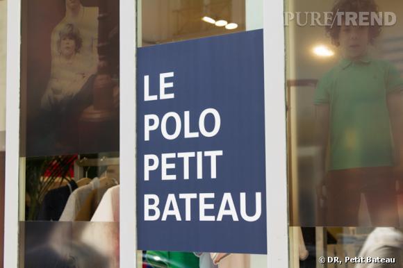 Le polo Petit Bateau : pop-up store.