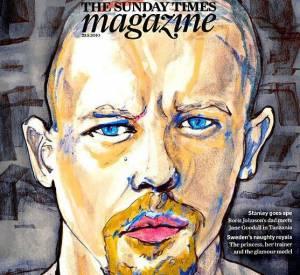 Alexander McQueen dessiné pour le Sunday Times Magazine.