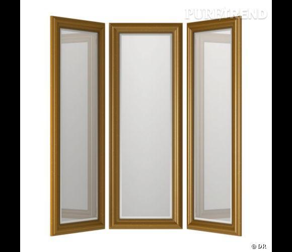Miroir ikea un miroir en tryptique pour s 39 exercer dans sa chambre prix 147 puretrend - Ikea miroir chambre ...