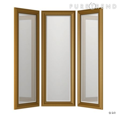 excellent miroir de chambre ikea miroir ikea un en tryptique pour s exercer dans sa chambre with. Black Bedroom Furniture Sets. Home Design Ideas