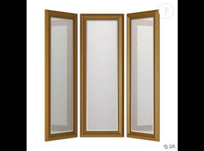 Miroir ikea un miroir en tryptique pour s 39 exercer dans sa for Recherche miroir